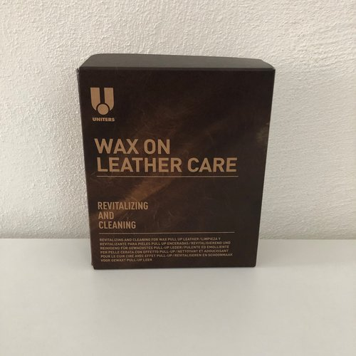 Leather Master U Wax on Leather care