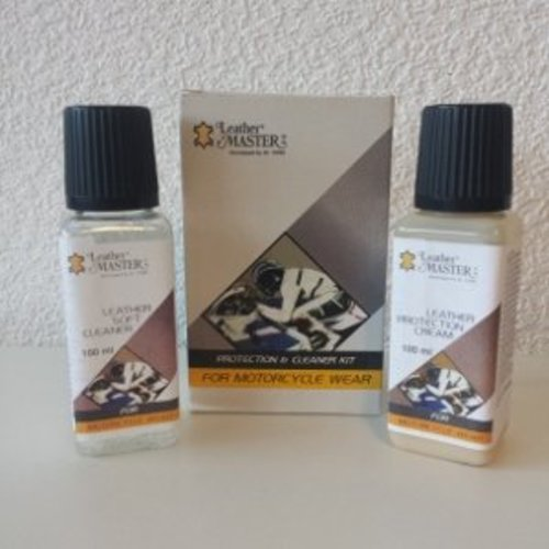 Leather Master Leather Master for Motorcycles Kit – 100 ml.