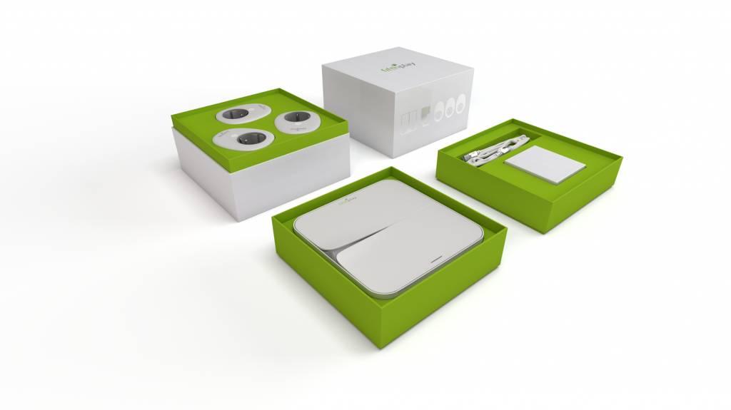 fifthplay cube - 3x smart plugs BE