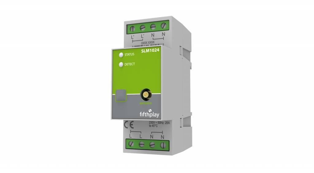 fifthplay slimme DIN Rail module – meet energieverbruik en - productie van elektrische kringen en toestellen tot 25A