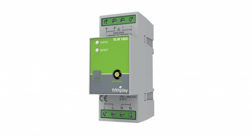 fifthplay slimme DIN Rail module – meet energieverbruik van elektrische kringen en toestellen tot 63A