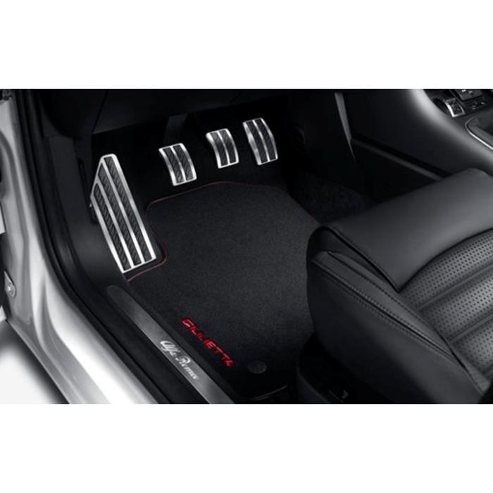 Giulietta sportpedalenset en voetsteun aluminium