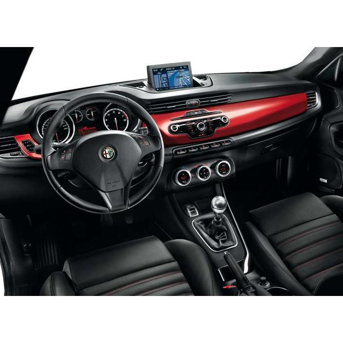 Giulietta dashboardpaneel Rosso Alfa