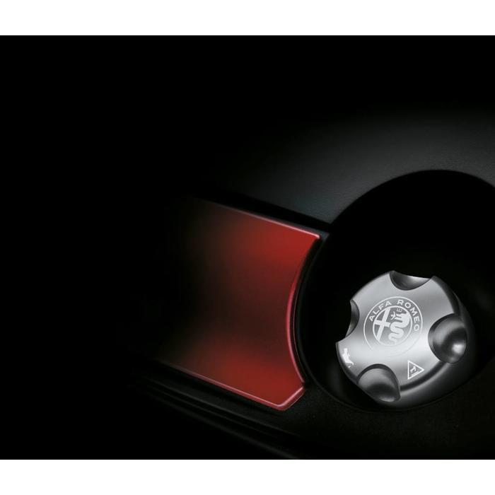 Aluminium oliedop benzine versies Giulietta