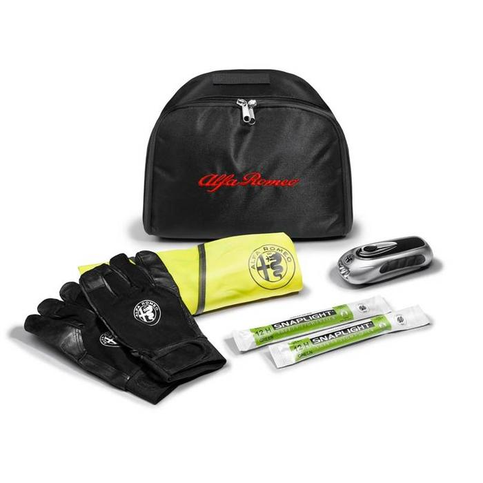 Emergency kit voor de Giulia of Stelvio