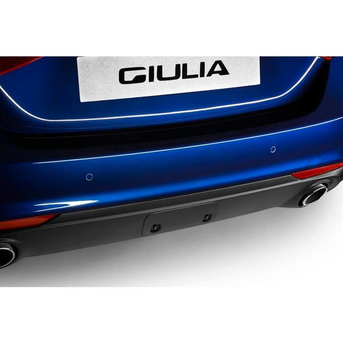 Trekhaak vak cover voor de Giulia