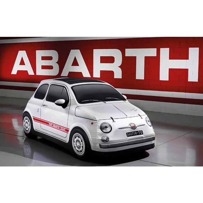 Car cover 'vintage' voor de Abarth