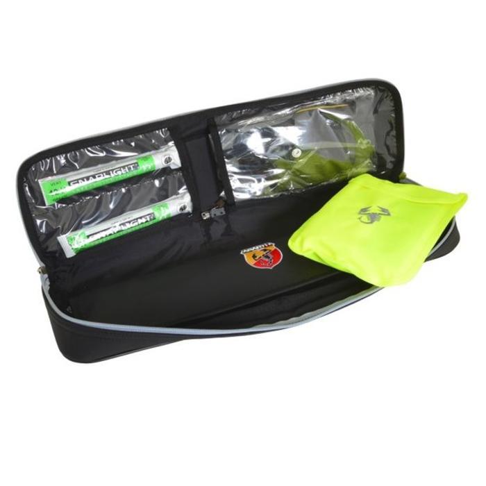 Emergency kit voor de Abarth