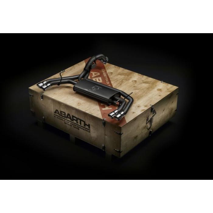 Uitlaatsysteem kit 'Record Monza' voor de Abarth
