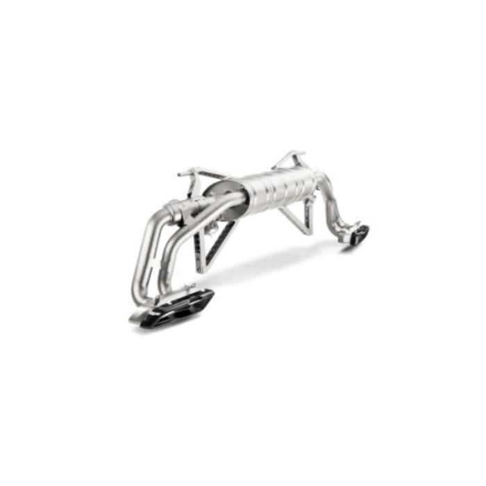 Akrapovic Slip-On Line Titanium voor de Audi R8