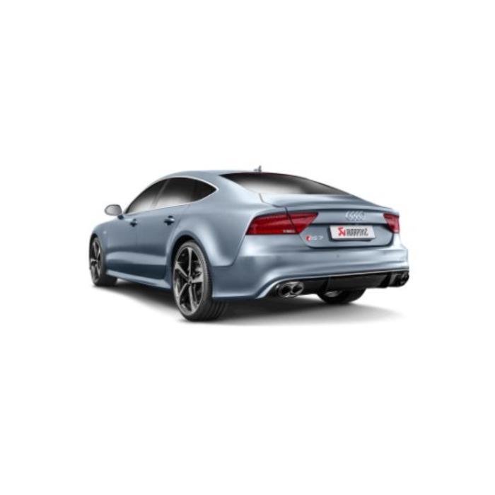Akrapovic Evolution Line Titanium voor de Audi RS7