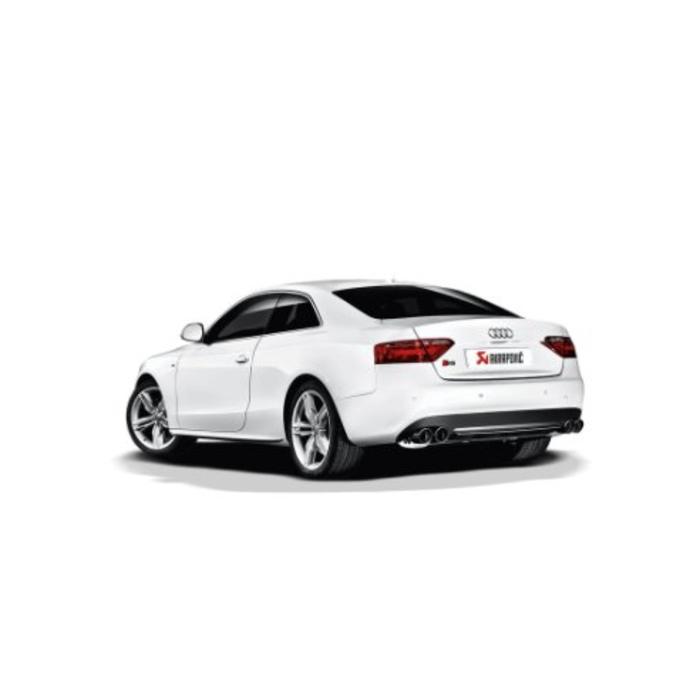 Akrapovic Slip-On Line (SS) voor de Audi S5