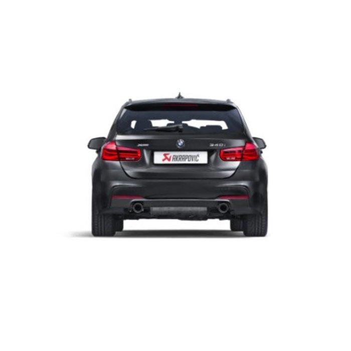 Akrapovic Evolution Link Pipe set (SS) voor de BMW 340i (F30-31)