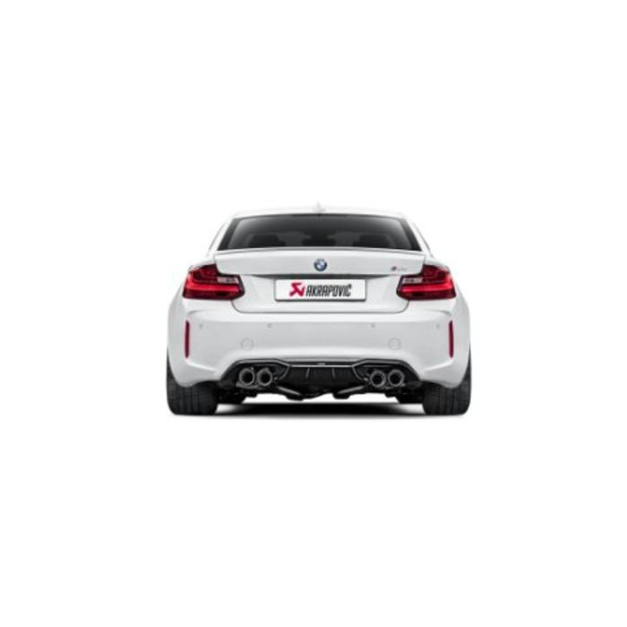 Akrapovic Evolution Line Titanium voor de BMW M2 (F87)