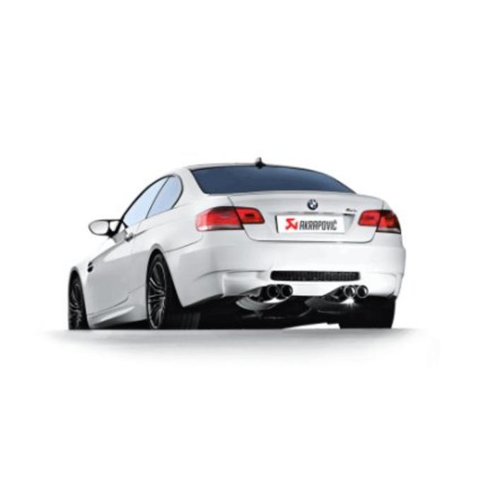 Akrapovic Slip-On Line Titanium/Carbon voor de BMW M3 (E92-93)