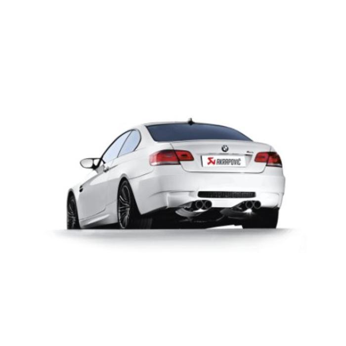 Akrapovic Evolution Line Titanium/Carbon voor de BMW M3 (E92-93)