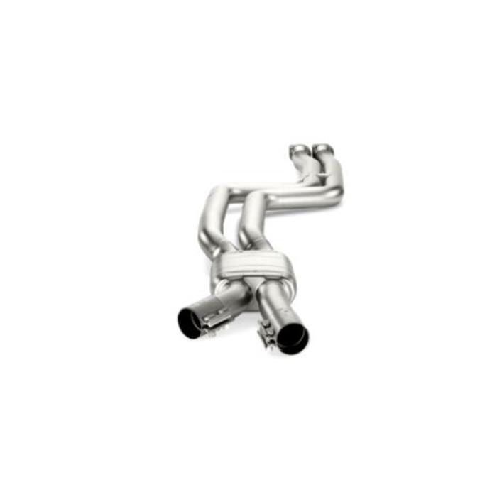 Akrapovic Evolution Link pipe set Titanium voor de BMW M3 (F80)