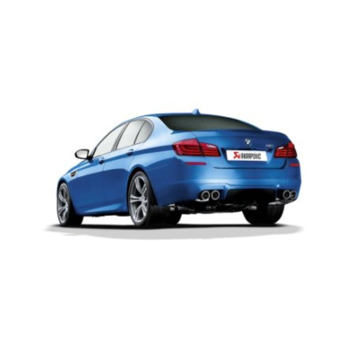 Akrapovic Evolution Line Titanium/Carbon voor de BMW M5 (F10)