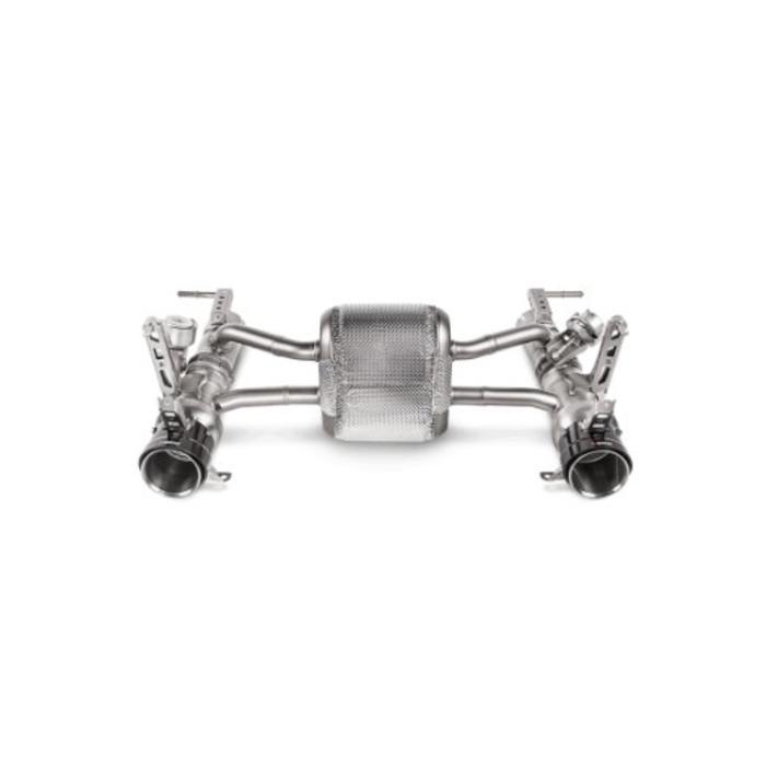 Akrapovic Slip-On Line Titanium voor de Ferrari 488 GTB/Spider