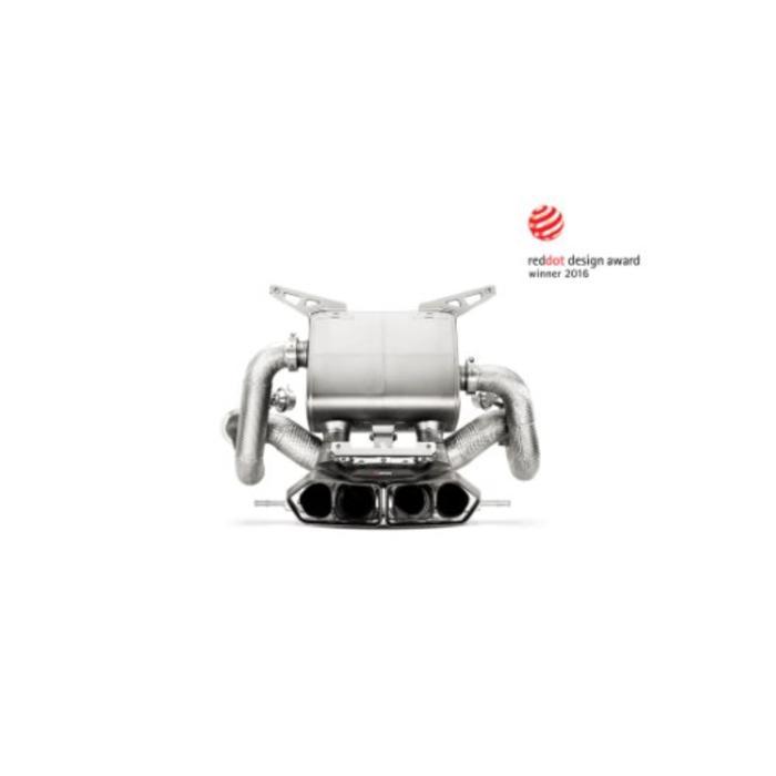 Aventador LP 700-4 Akrapovic Slip-On Line Titanium - Inconel