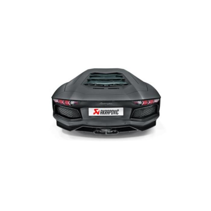 Akrapovic Slip-On Line Titanium - Inconel voor de Aventador LP 700-4