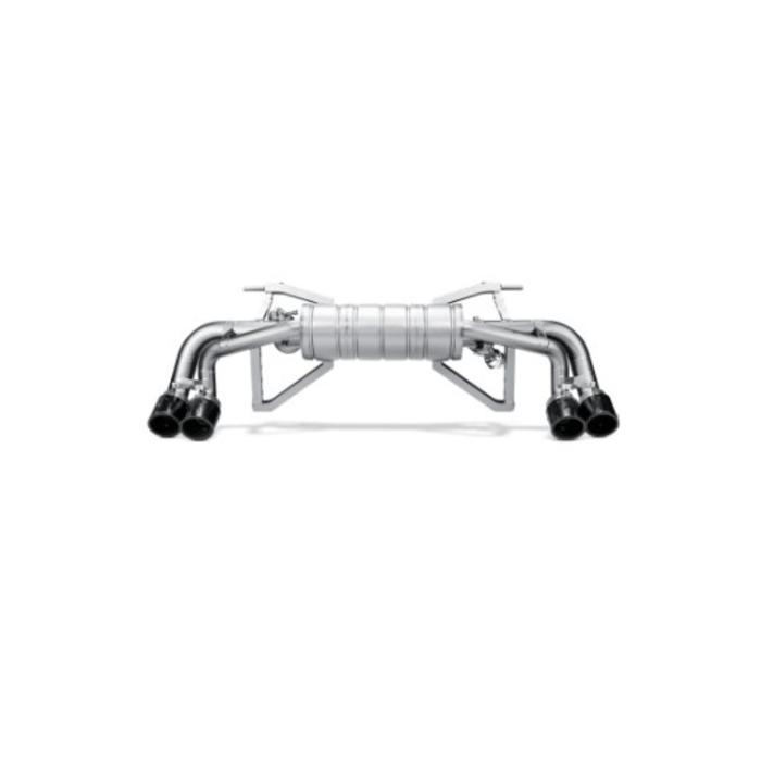 Akrapovic Slip-On Line Titanium voor de Gallardo LP 570-4