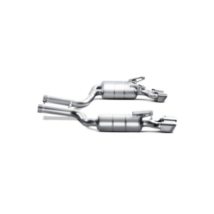 Akrapovic Evolution Line Titanium voor de C 63 Coupe (C204)