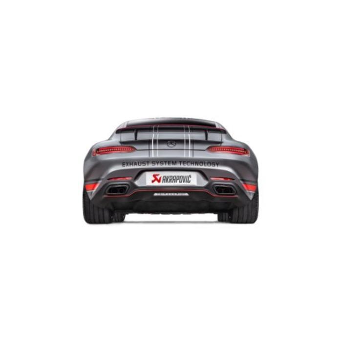 GT / GT S (C190-120) Akrapovic Evolution Line Titanium