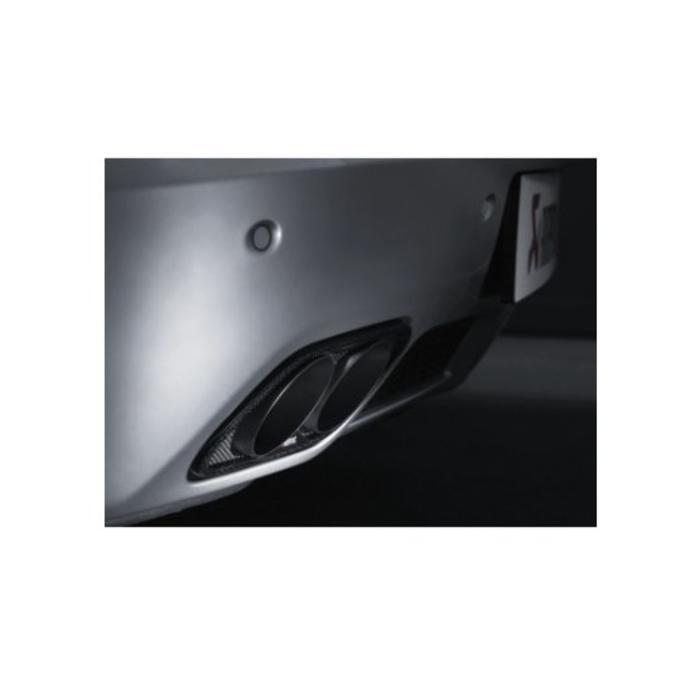 Akrapovic Evolution Line Titanium voor de SLS Coupe / Roadster (C197-R197)