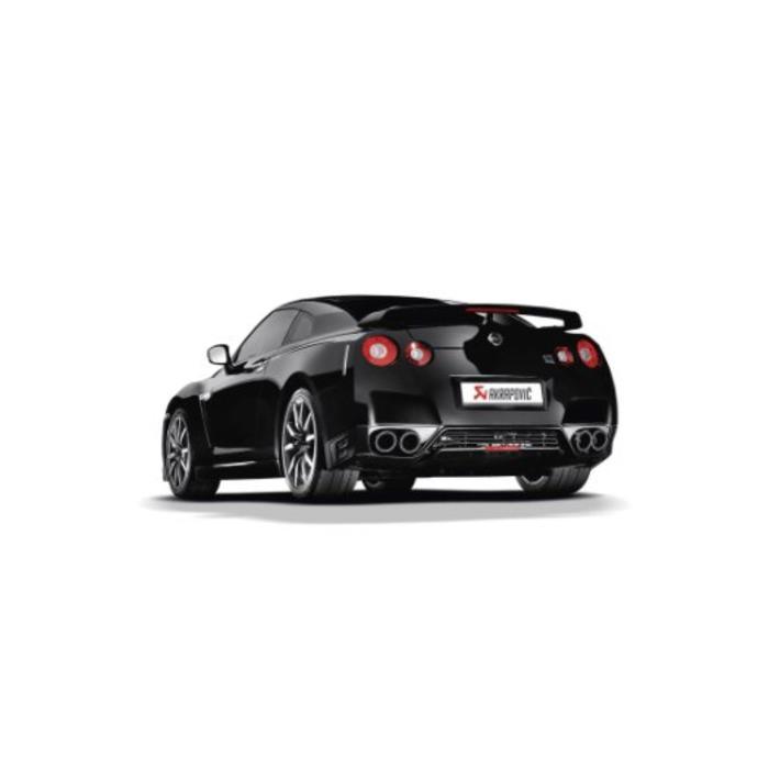 Akrapovic Evolution Line Titanium/Carbon voor de GT-R