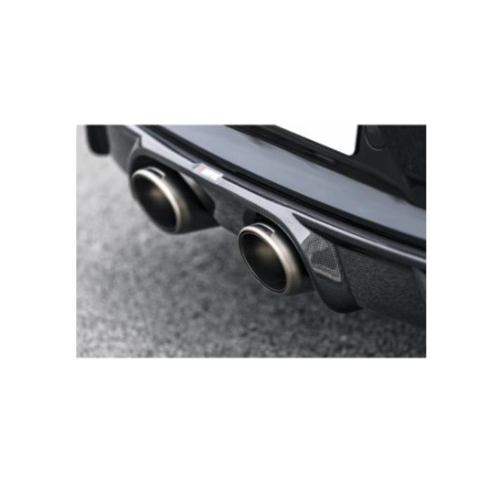 Akrapovic Rear Cabon Diffuser - Glanzend voor de 911 Carrera Cabriolet S/4/4S/GTS (991.2)