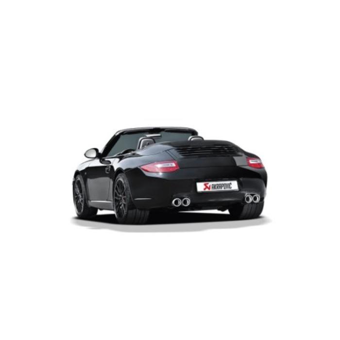 Akrapovic Slip-On Race Line Titanium voor de 911 Carrera Cabriolet S/4/4S/GTS (997 DFI)