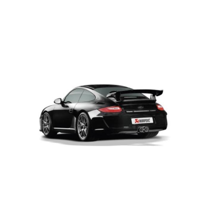 911 GT3/RS (997 FL) Slip-On Line Titanium/Carbon voor de Porsche