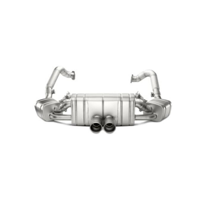 Boxster (981) Slip-On Line Titanium voor de Porsche