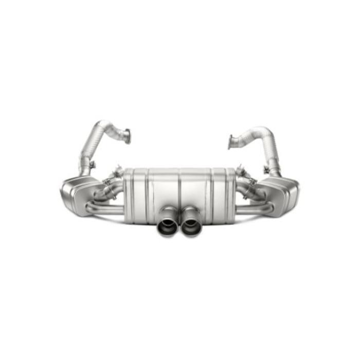 Boxster Spyder (981) Slip-On Line Titanium voor de Porsche