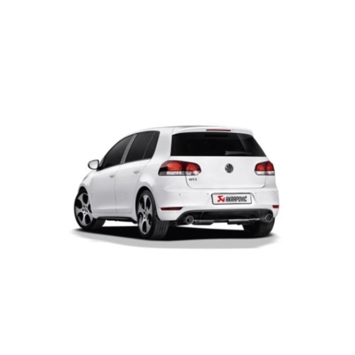 Golf (VI) GTI Slip-On Line (SS) voor de Volkswagen