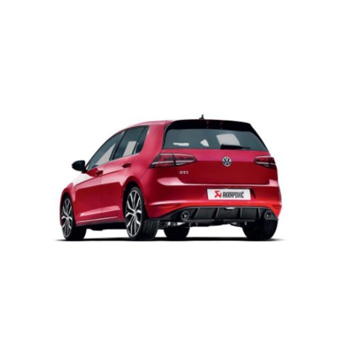 Golf (VII) GTI Slip-On Line Titanium voor de Volkswagen