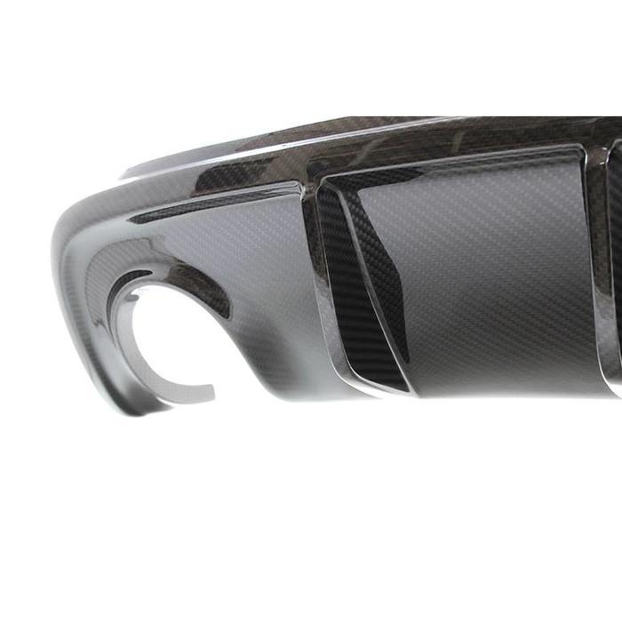 Giulietta rear diffuser in carbon
