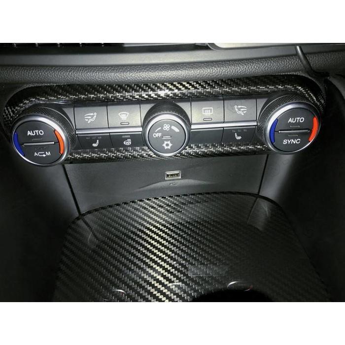 Alfa Romeo Giulia / Stelvio AC air conditionate cover frame