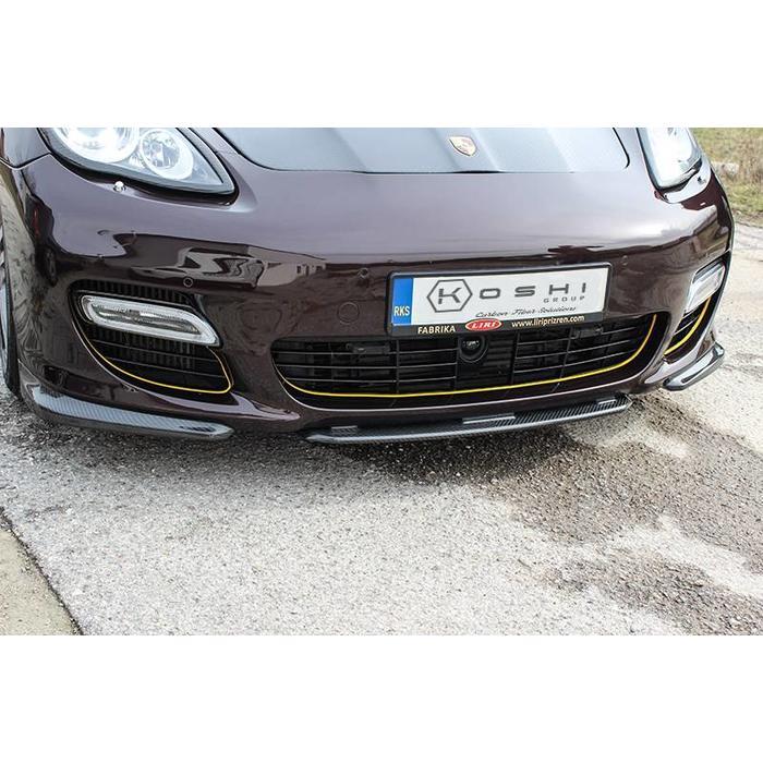 Porsche Panamera Front Lip Splitter Bumper Facelift