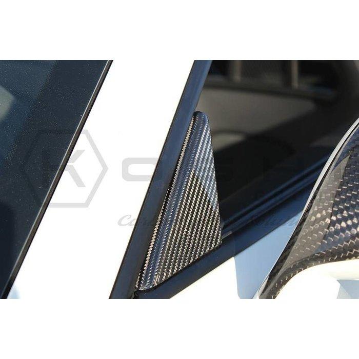 Porsche 911 GT3 Exterior Door Triangle – A Pillar