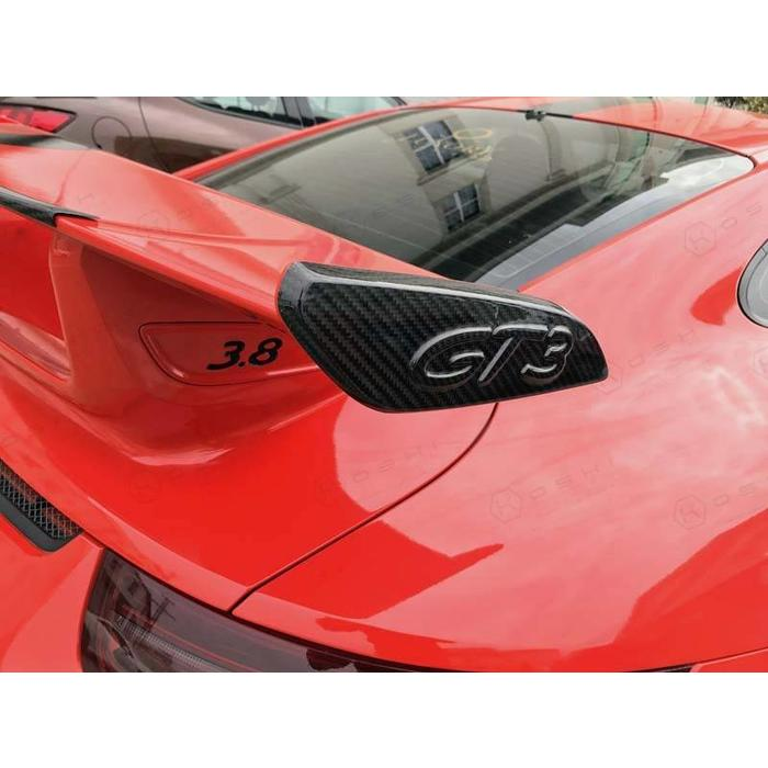 Porsche 911 GT3 Rear Spoiler Side Plates – Wings