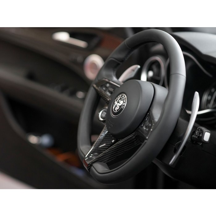 Alfa Romeo Giulia / Stelvio Steering Wheel Trim