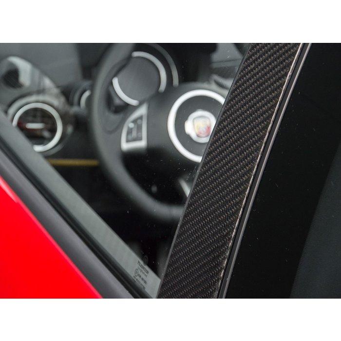 Carbon deur en B stijl afdekking