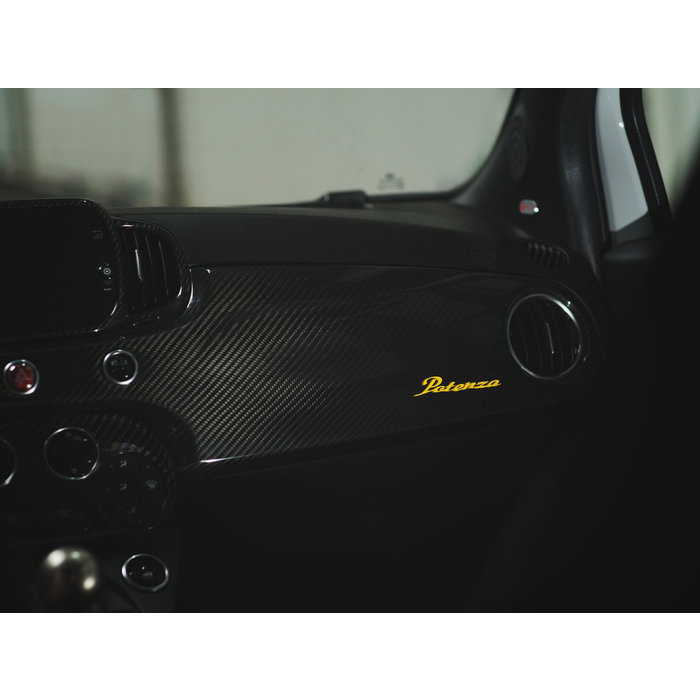 Abarth 595 Carbon Dashboard