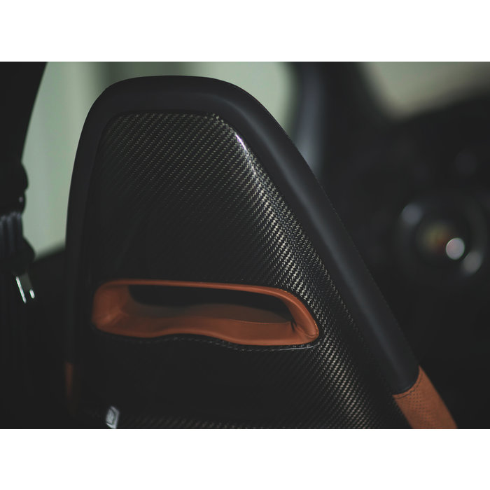 Abarth 595 Sabelt Seat Cover Shell