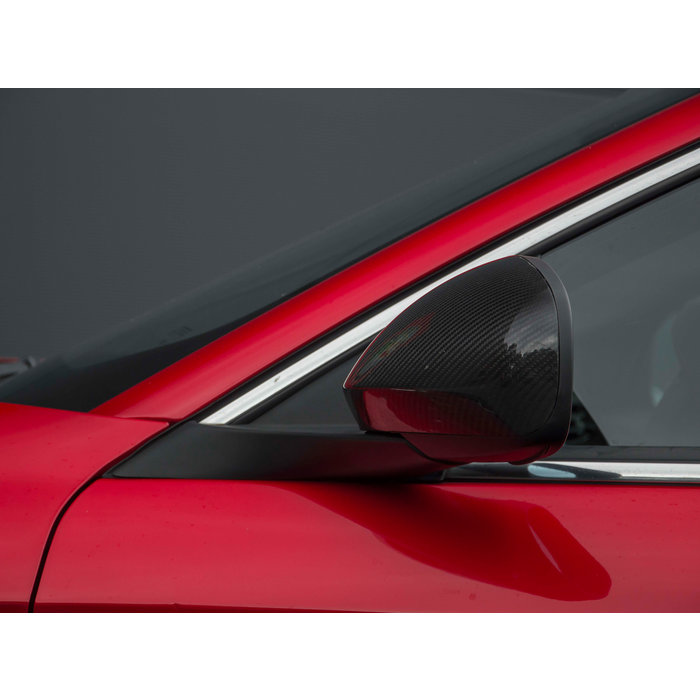 Alfa Romeo Giulietta Carbon Mirror Caps