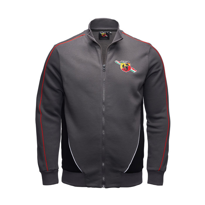 Abarth sweater racing grey