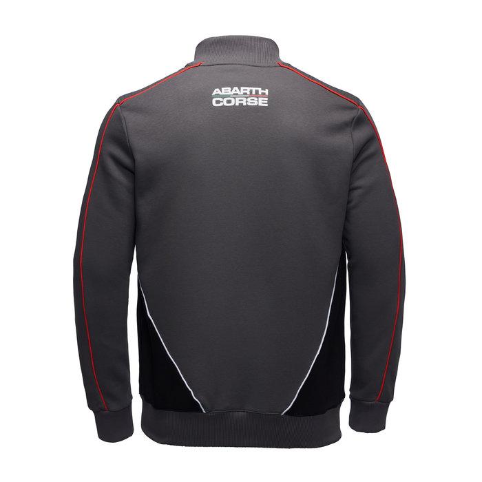 Abarth sweater racing grey