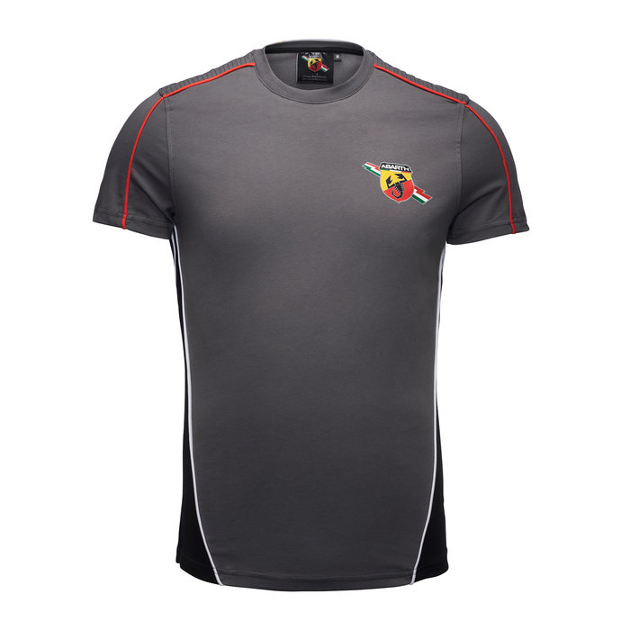 Abarth shirt racing grey
